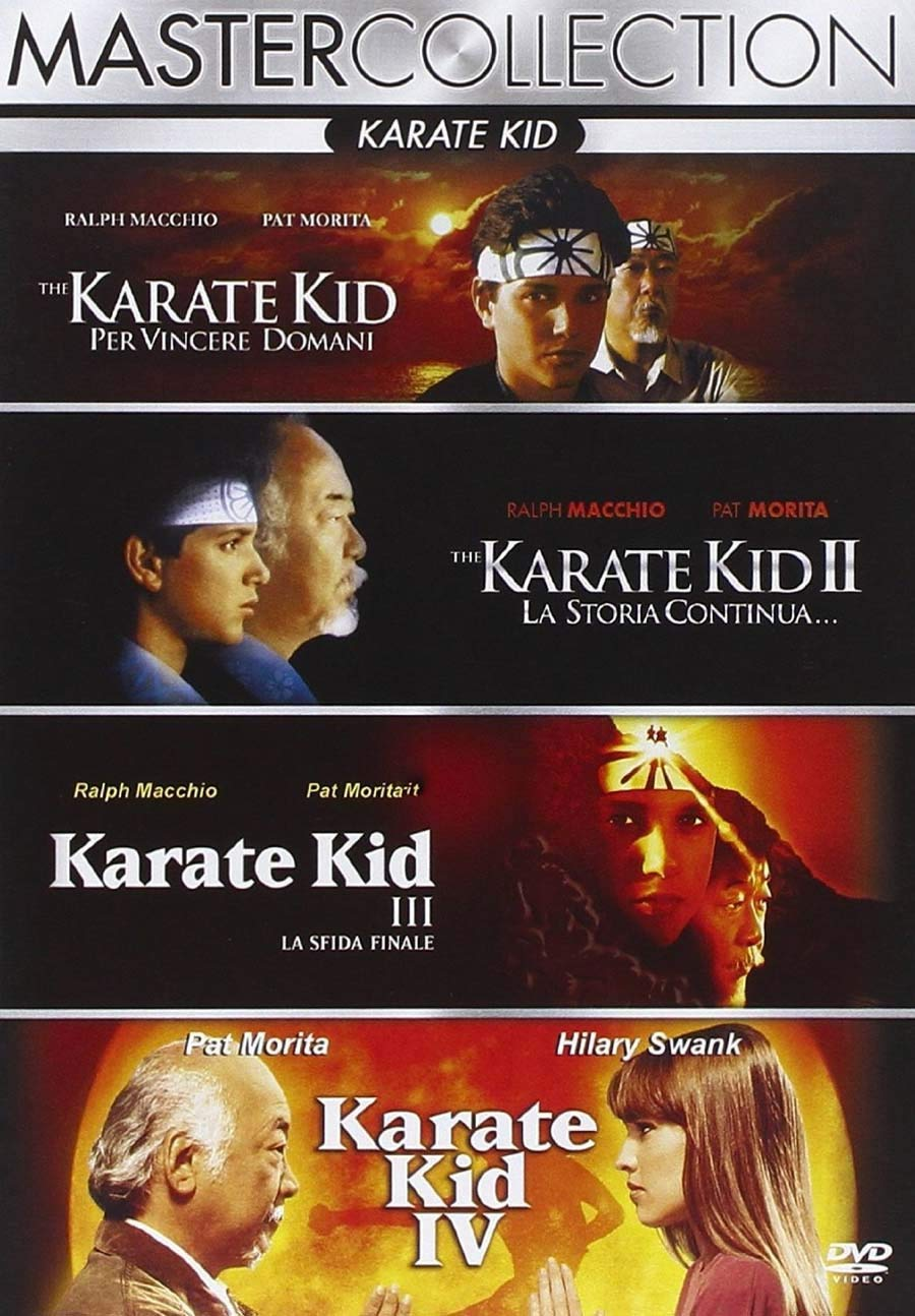 COF.KARATE KID QUADRILOGIA (4 DVD) (DVD)