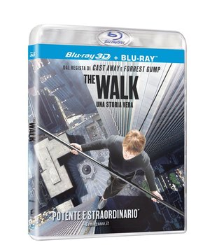 THE WALK (BLU-RAY 3D + BLU-RAY)