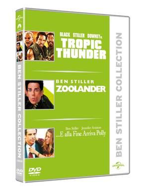 COF.BEN STILLER COLLECTION (3 DVD) (DVD)