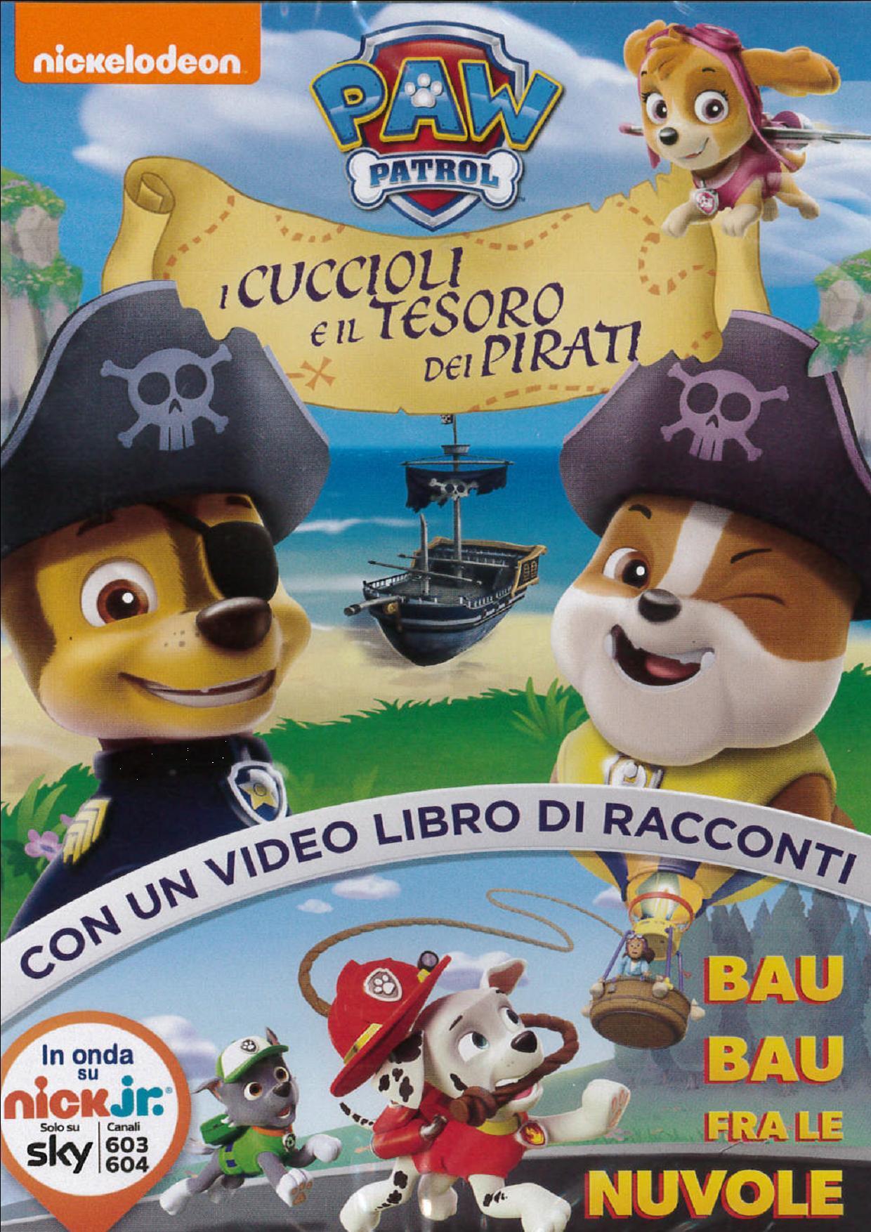 PAW PATROL - I CUCCIOLI E IL TESORO DEI PIRATI (DVD)