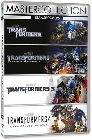 COF.TRANSFORMERS QUADRILOGY (4 DVD) (DVD)