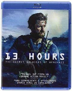 13 HOURS - THE SECRET SOLDIERS OF BENGHAZI (BLU RAY)