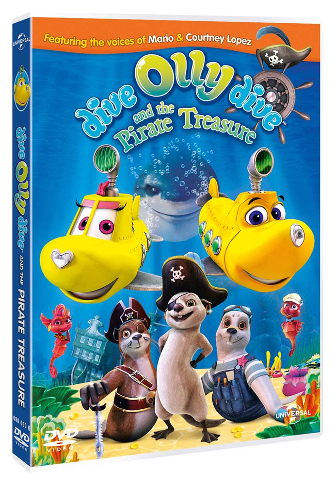 OLLY IL SOTTOMARINO E IL TESORO DEI PIRATI (DVD)