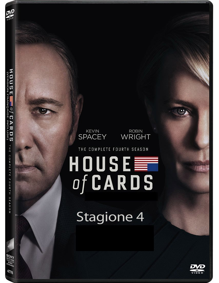 COF.HOUSE OF CARDS - STAGIONE 04 (4 DVD) (DVD)