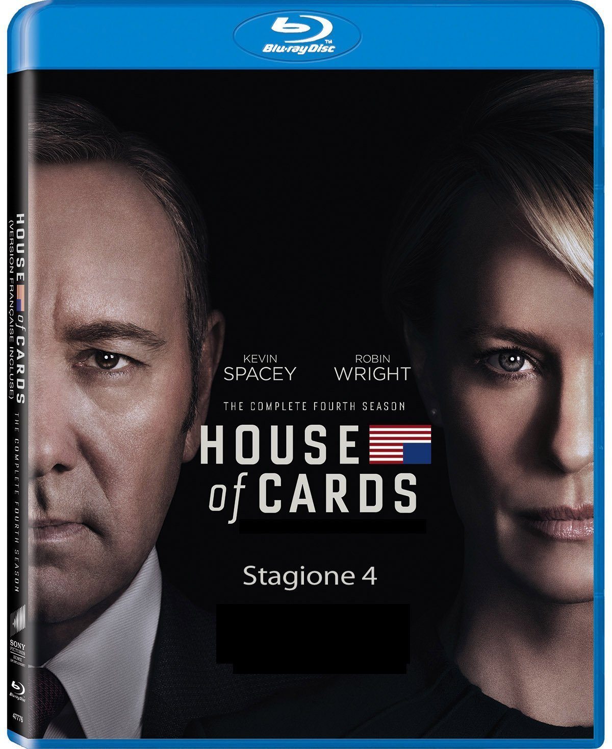 COF.HOUSE OF CARDS - STAGIONE 04 (4 BLU RAY)