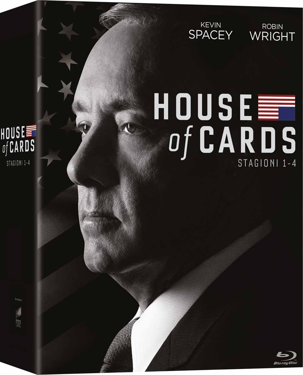 COF.HOUSE OF CARDS - STAGIONE 01-04 (16 BLU-RAY)