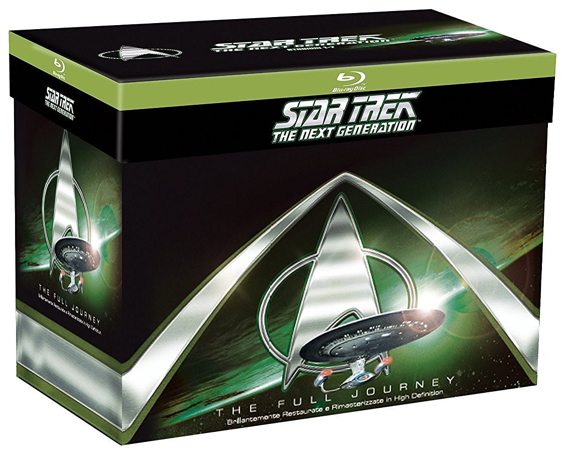 COF.STAR TREK - THE NEXT GENERATION - STAGIONI 1-7 (41 BLU-RAY)