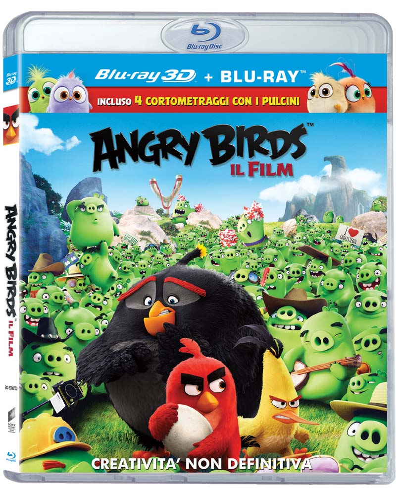 ANGRY BIRDS. IL FILM - BLU RAY 3D
