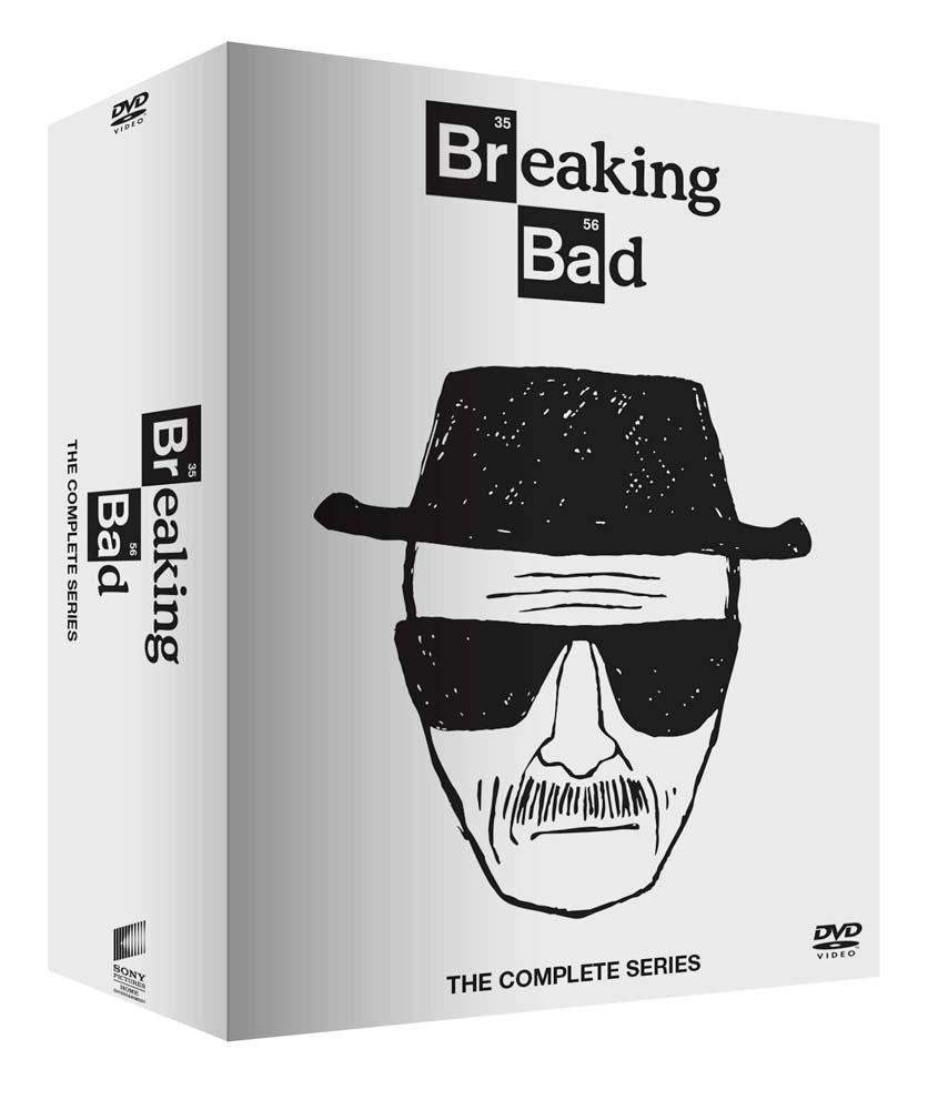COF.BREAKING BAD COLLECTION - WHITE EDITION (21 DVD+6 CARTOLINE DA COLLEZIONE) (DVD)