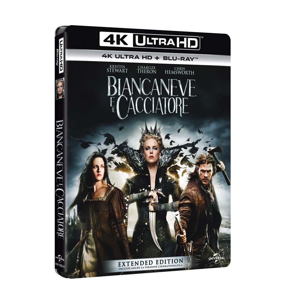 BIANCANEVE E IL CACCIATORE (BLU-RAY ULTRA HD 4K+BLU-RAY)