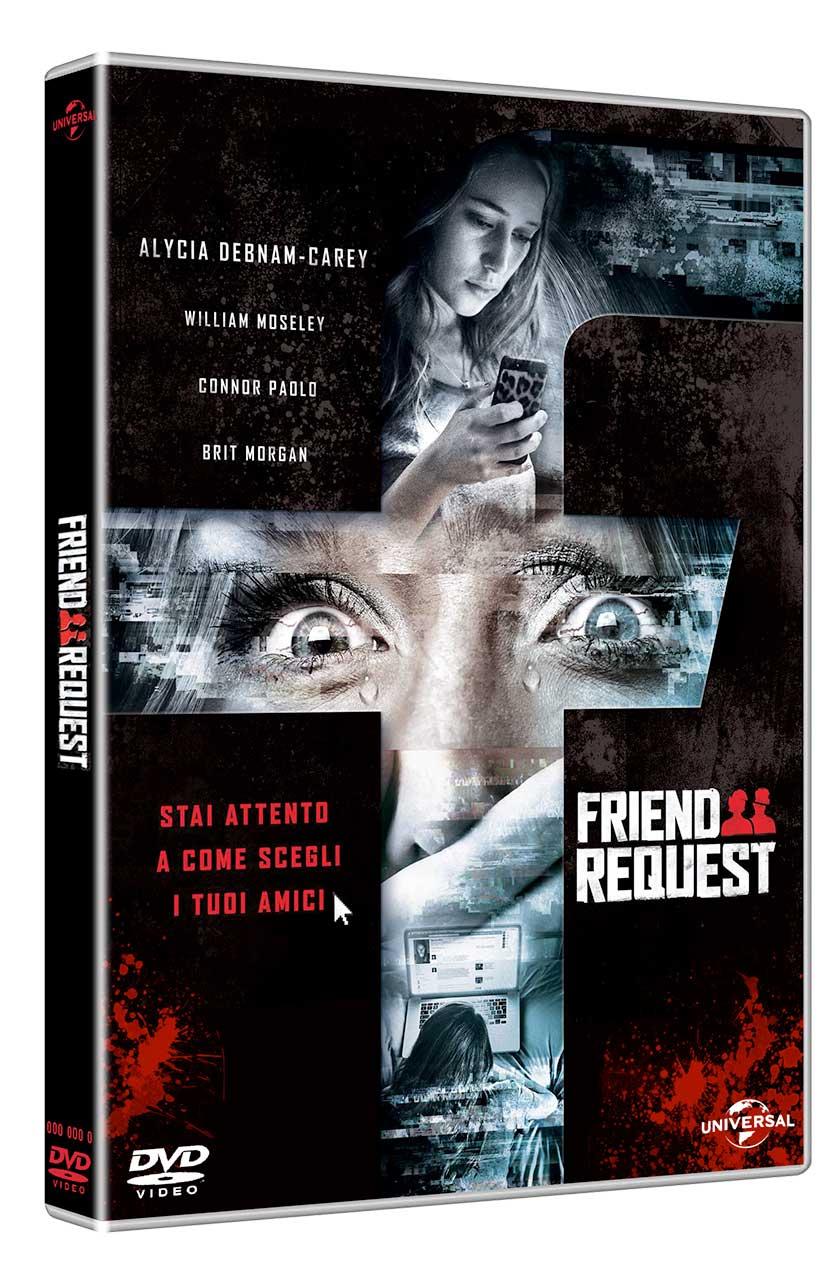 FRIEND REQUEST - LA MORTE HA IL TUO PROFILO (DVD)