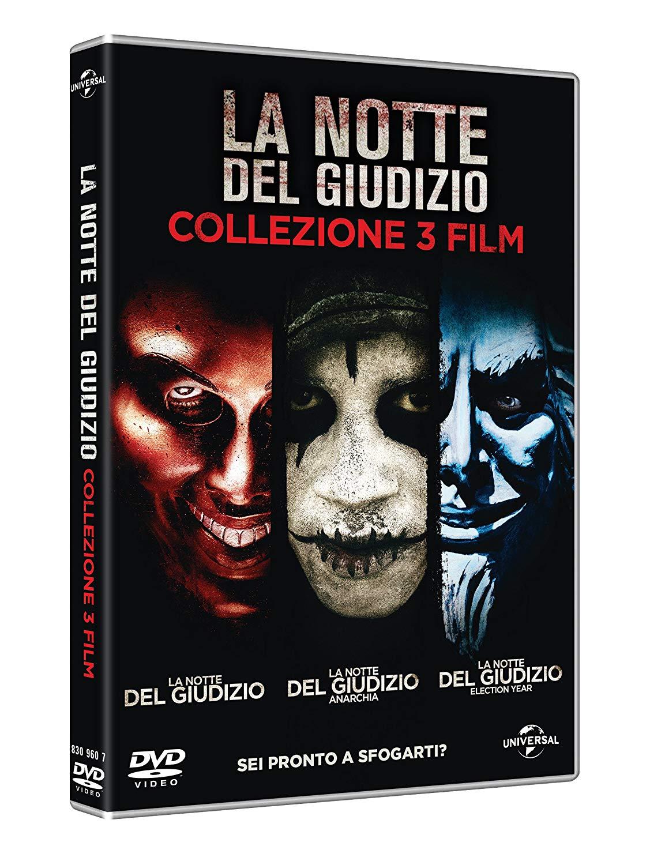 COF.LA NOTTE DEL GIUDIZIO - LA TRILOGIA -3DVD (DVD)