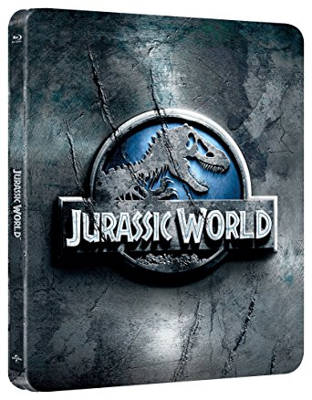 JURASSIC WORLD (STEELBOOK) (BLU-RAY)