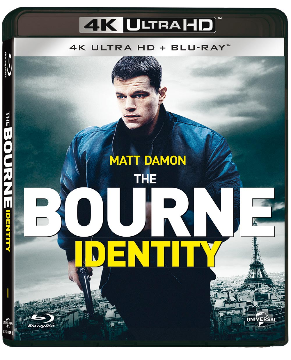 THE BOURNE IDENTITY (BLU-RAY 4K ULTRA HD+BLU-RAY)