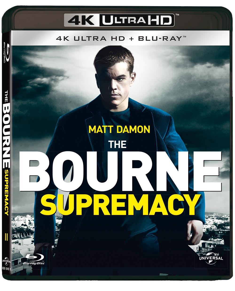 THE BOURNE SUPREMACY (BLU-RAY 4K ULTRA HD+BLU-RAY)