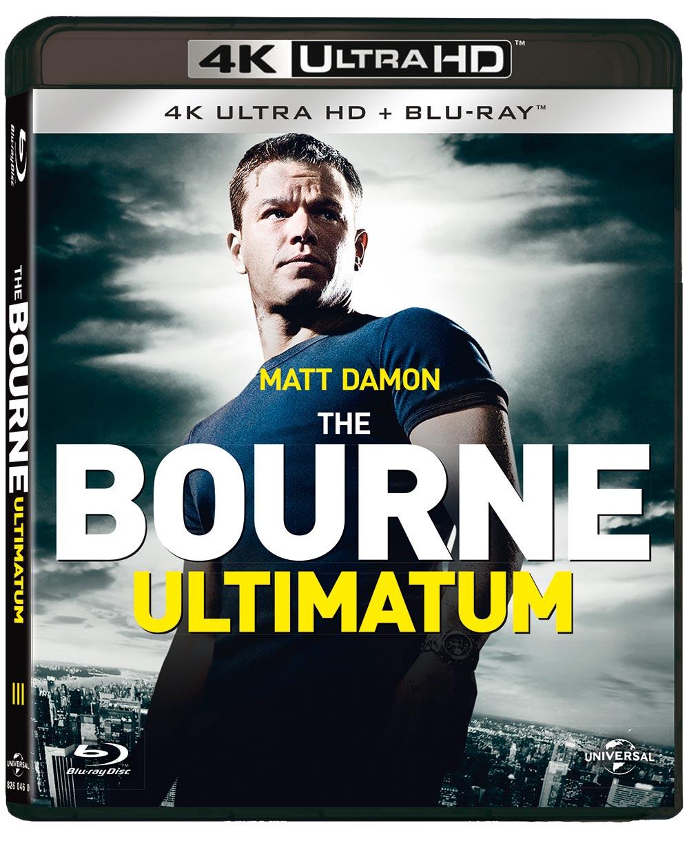THE BOURNE ULTIMATUM (BLU-RAY 4K ULTRA HD+BLU-RAY)