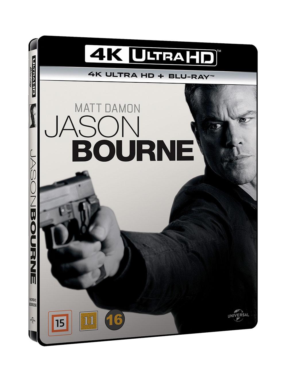 JASON BOURNE (BLU-RAY 4K ULTRA HD+BLU-RAY)