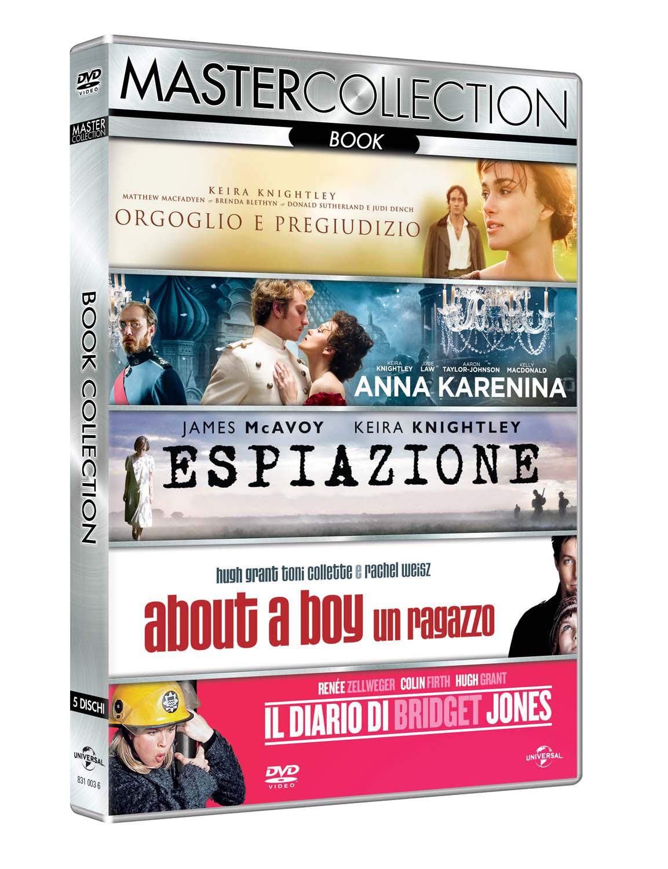 COF.BOOK MASTER COLLECTION (5 DVD) (DVD)