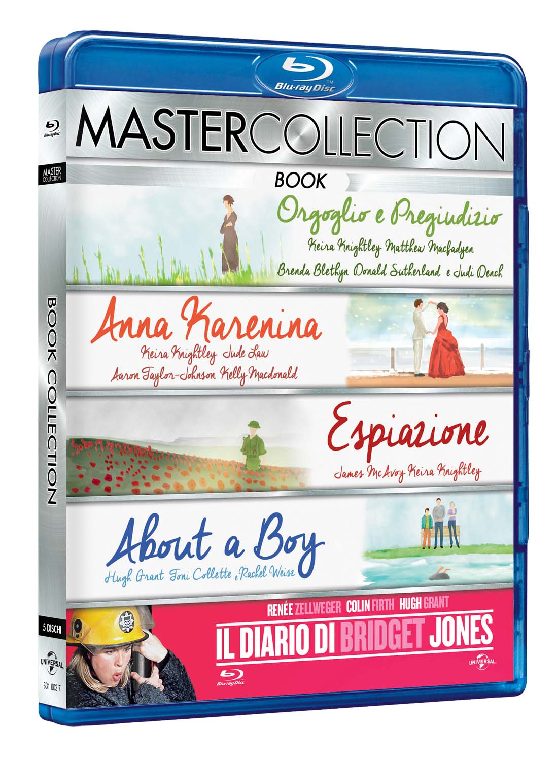 COF. BOOK MASTER COLLECTION (5 BLU-RAY)