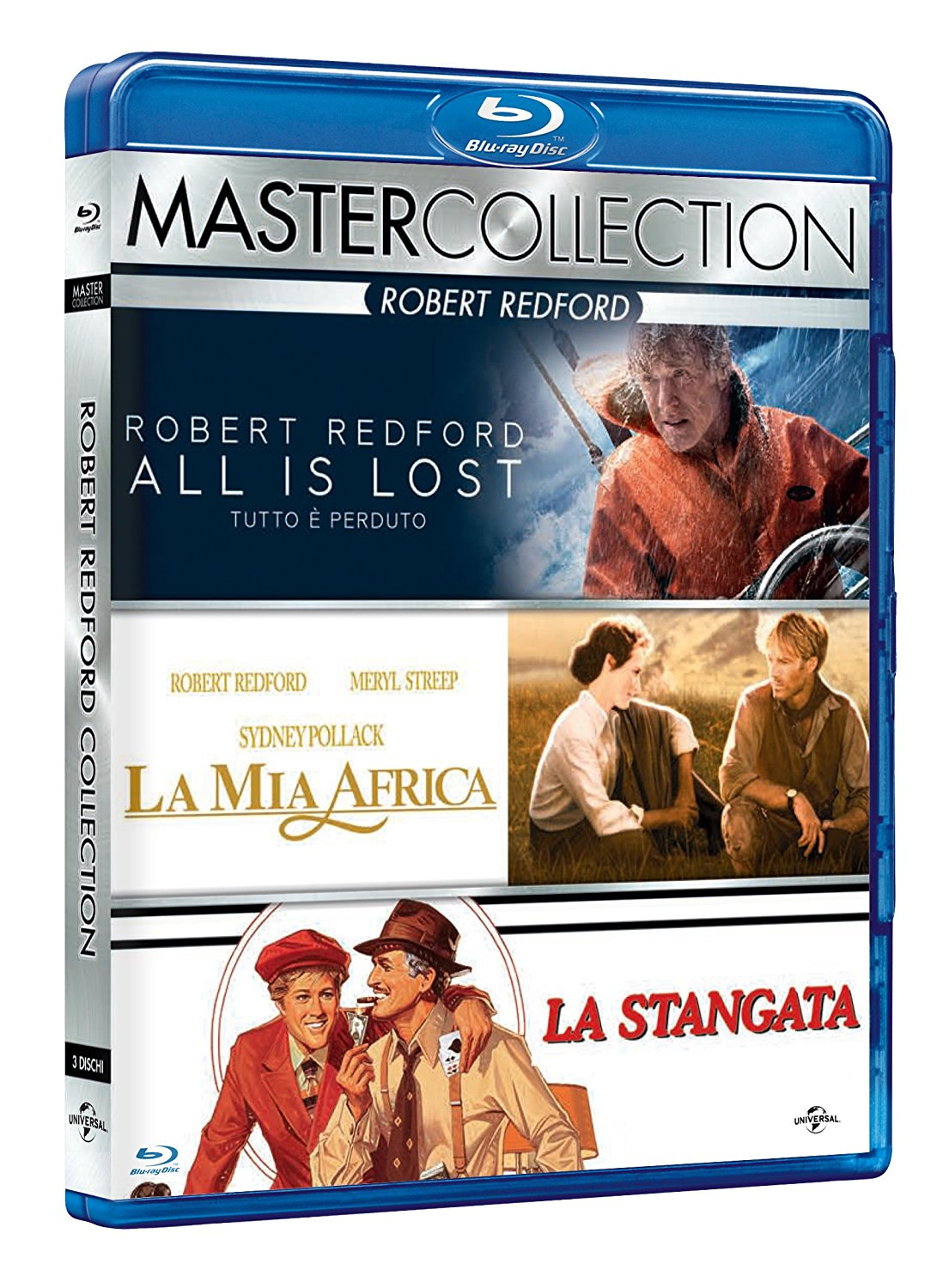 COF.ROBERT REDFORD MASTER COLLECTION (3 BLU-RAY)
