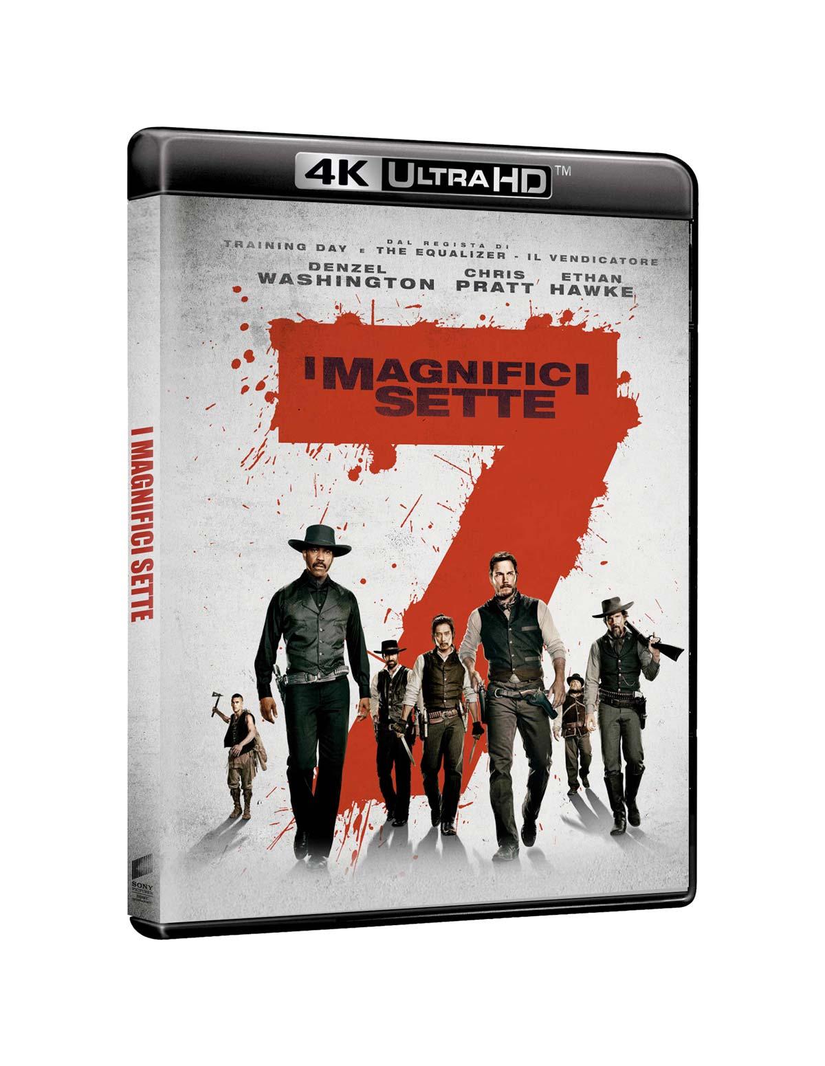 I MAGNIFICI SETTE (2016) -(BLU-RAY 4K ULTRA HD+BLU-RAY)
