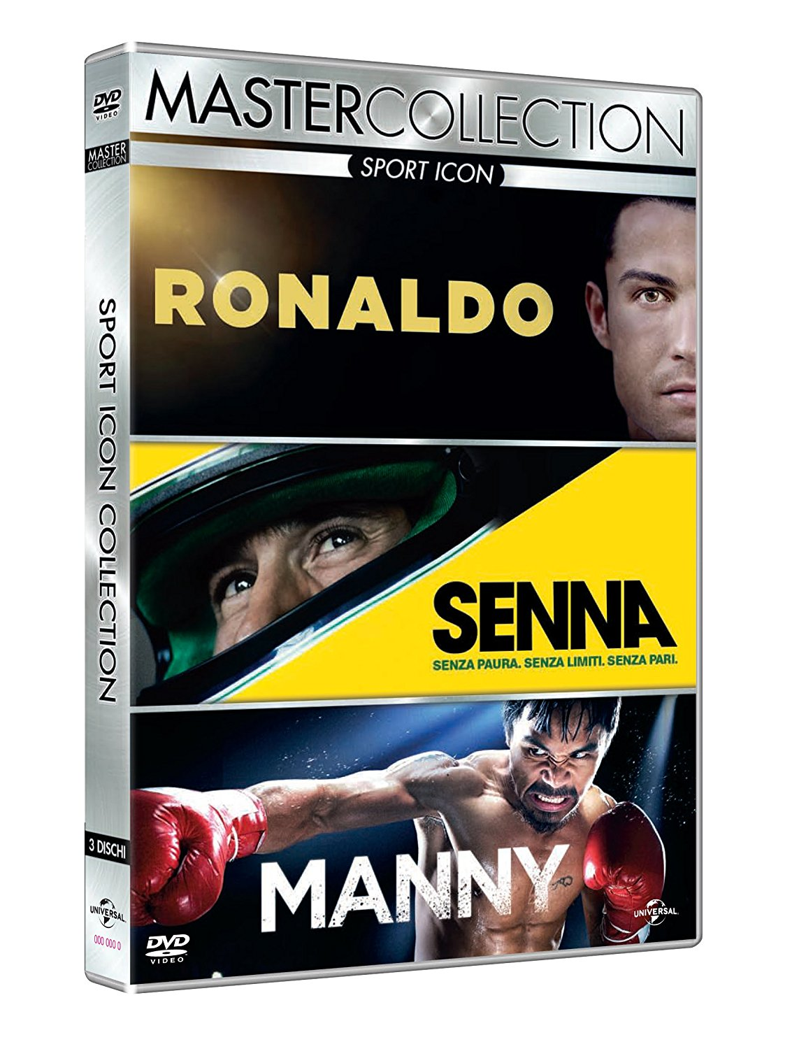 COF.SPORT ICON MASTER COLLECTION (3 DVD) (DVD)