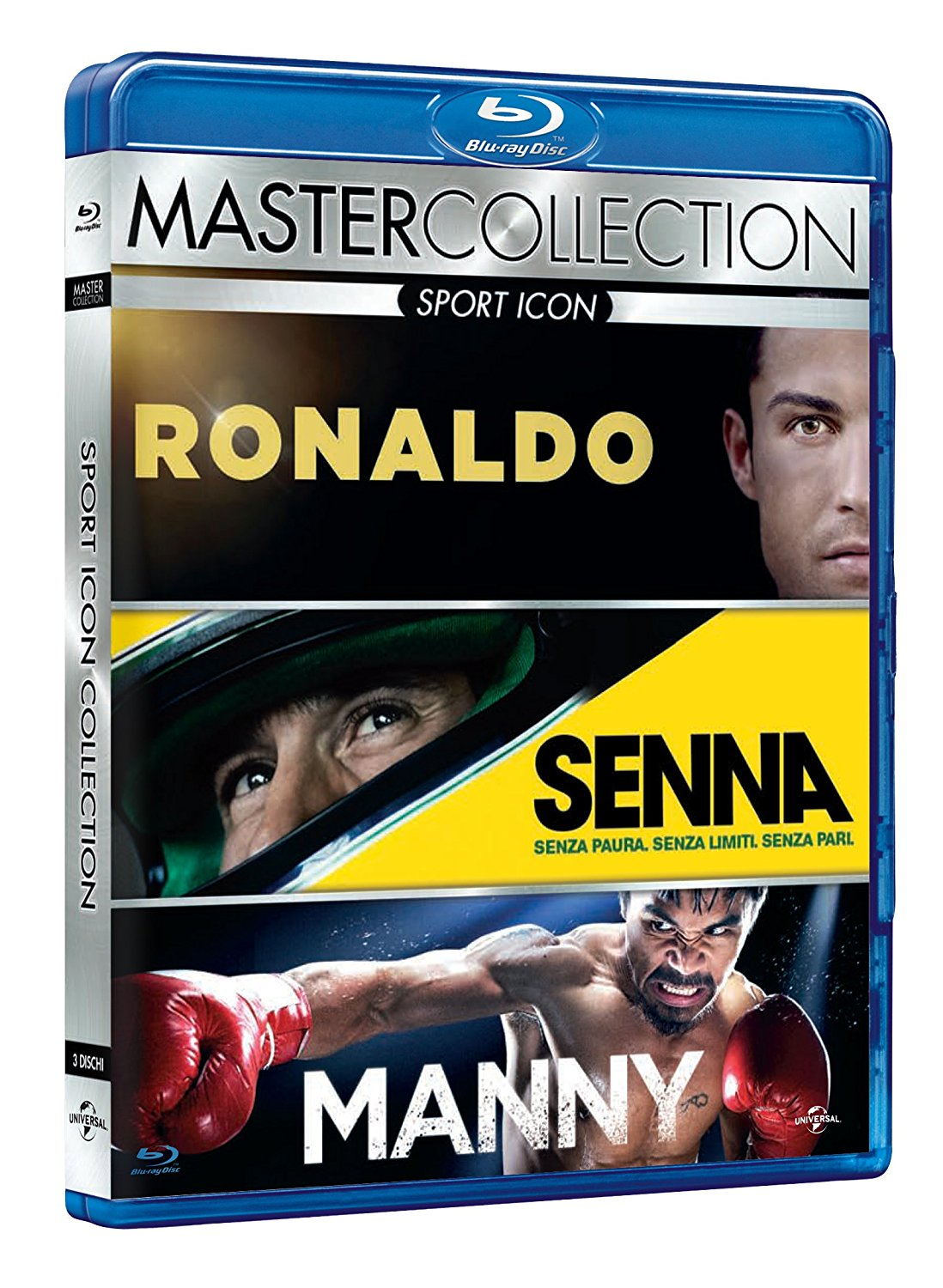 COF.SPORT ICON MASTER COLLECTION (3 BLU-RAY)