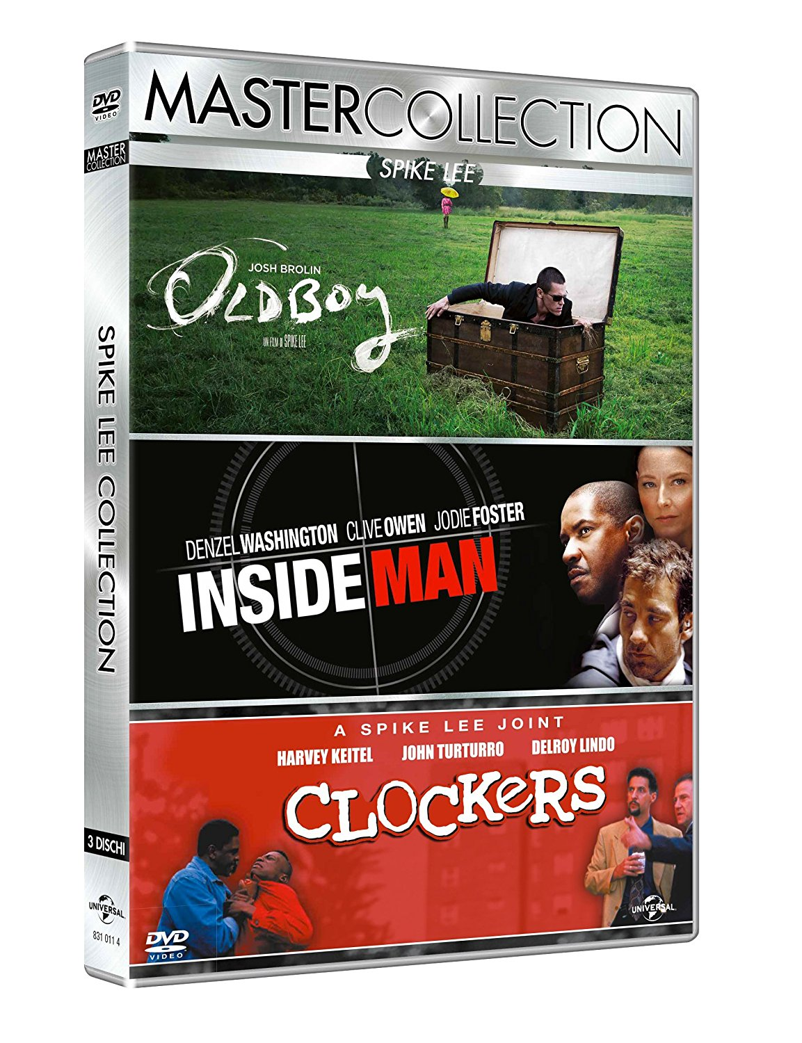 COF.SPIKE LEE MASTER COLLECTION (3 DVD) (DVD)