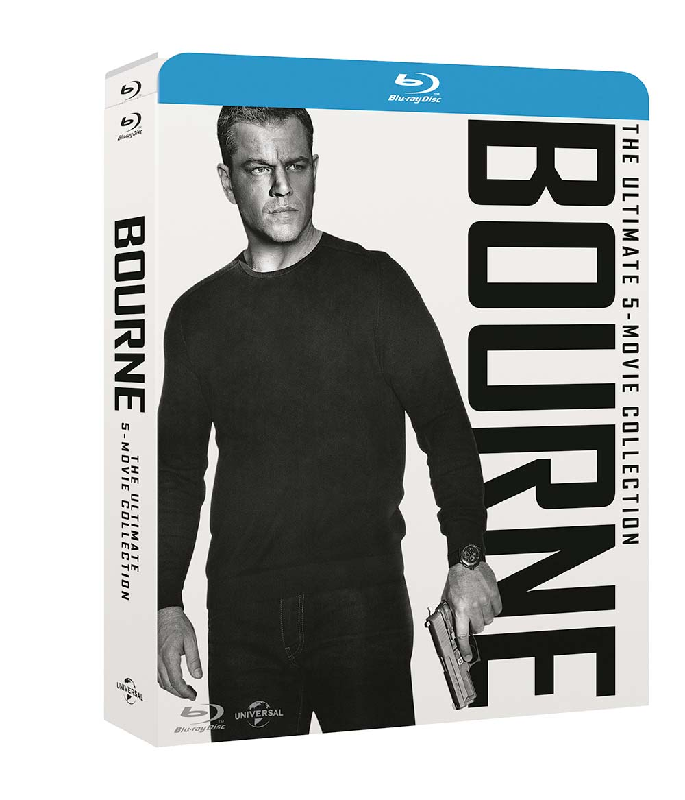 COF.BOURNE - MOVIE COLLECTION (5 BLU-RAY)