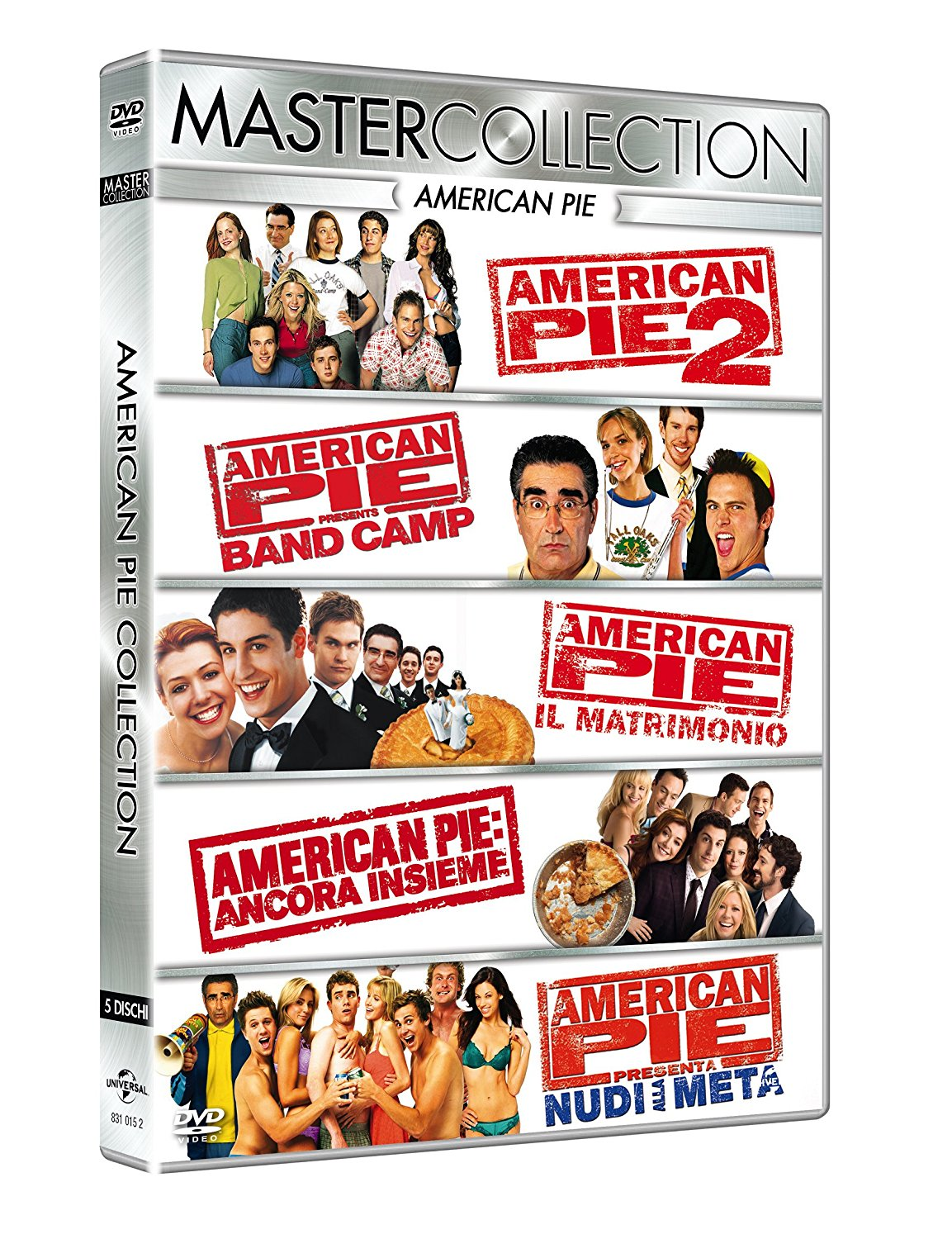 COF.AMERICAN PIE MASTER COLLECTION (5 DVD) (DVD)