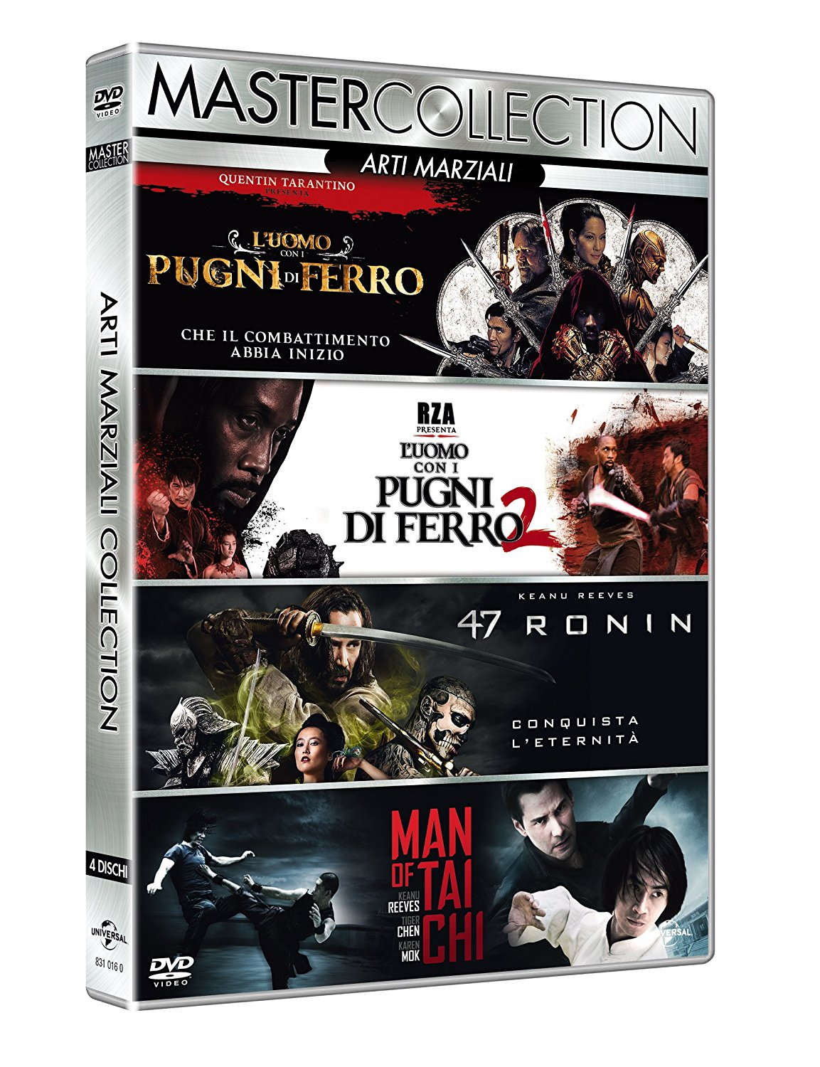 COF.ARTI MARZIALI COLLECTION (4 DVD) (DVD)