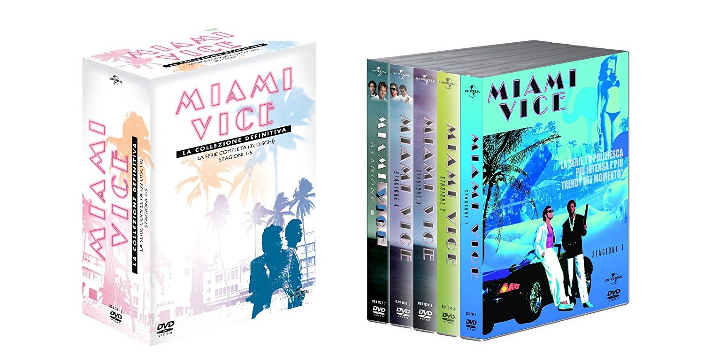 COF.MIAMI VICE - LA COLLEZIONE DEFINITIVA (32 DVD) (DVD)