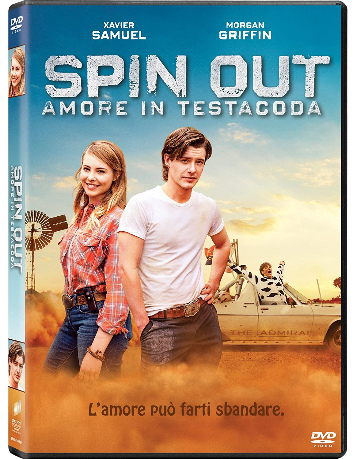 SPIN OUT - AMORE IN TESTACODA (DVD)