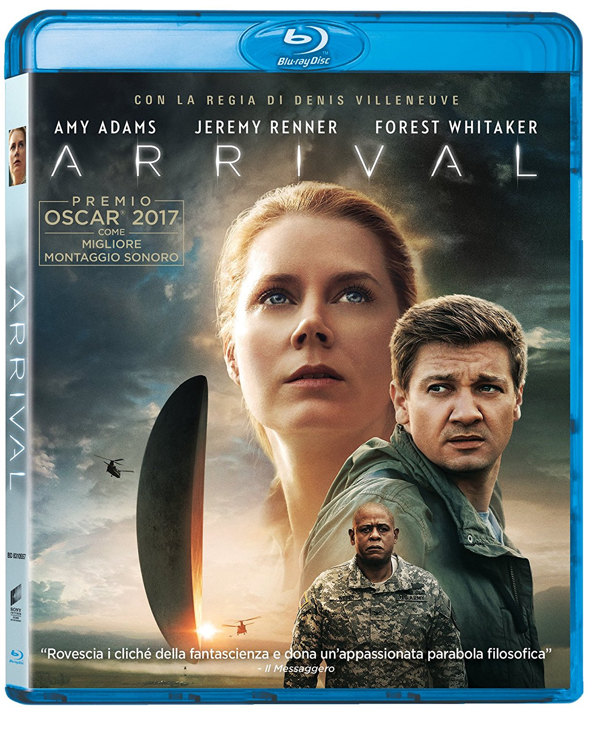 ARRIVAL - 2016 - BLU RAY