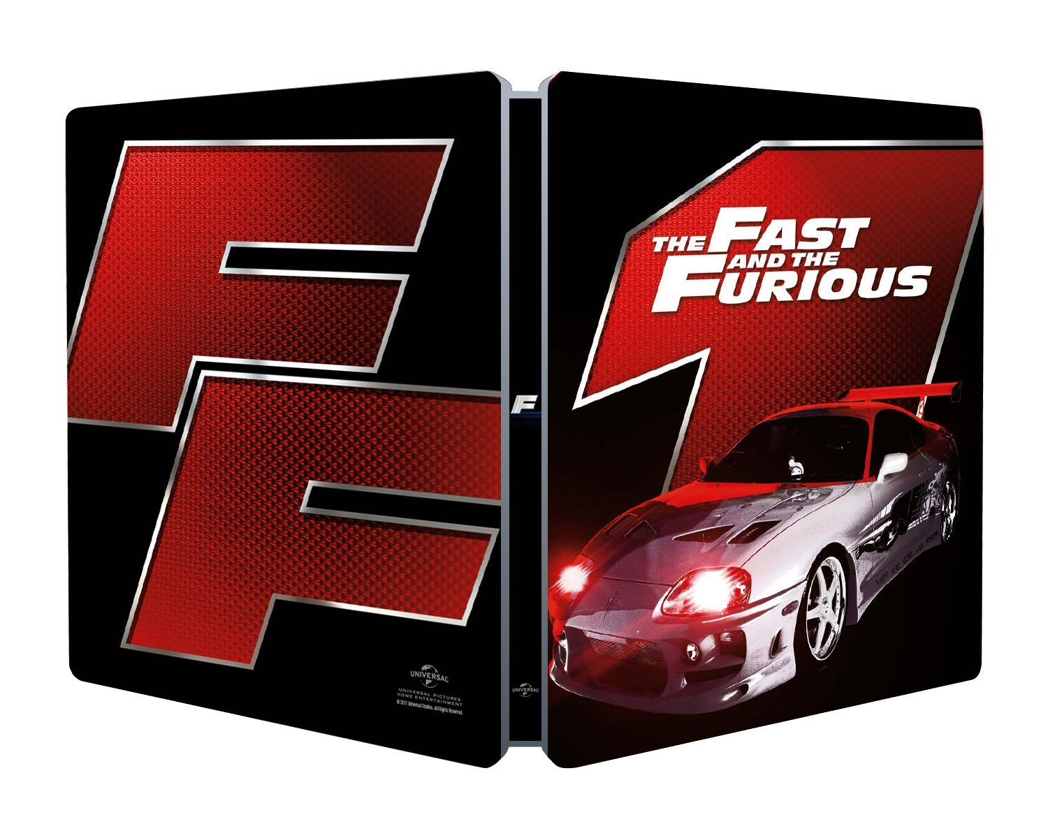 FAST & THE FURIOUS (STEELBOOK)