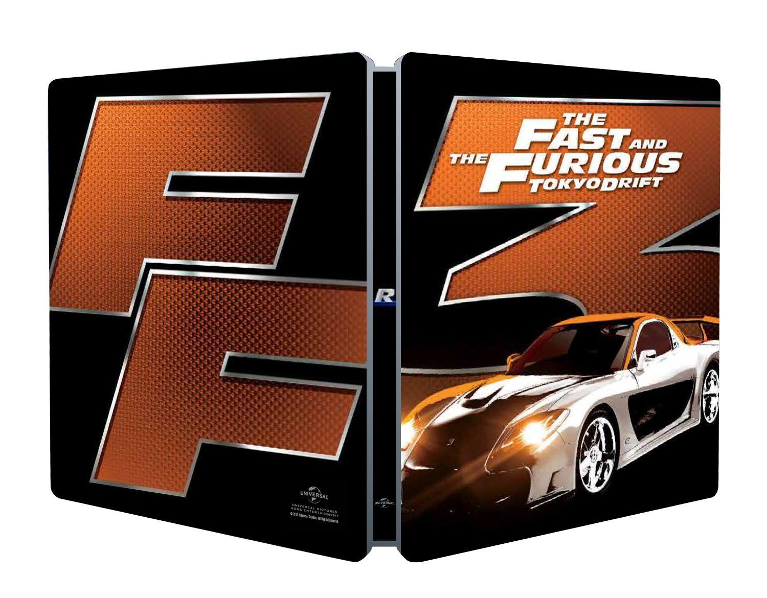 FAST AND FURIOUS - TOKIO DRIFT (STEELBOOK)
