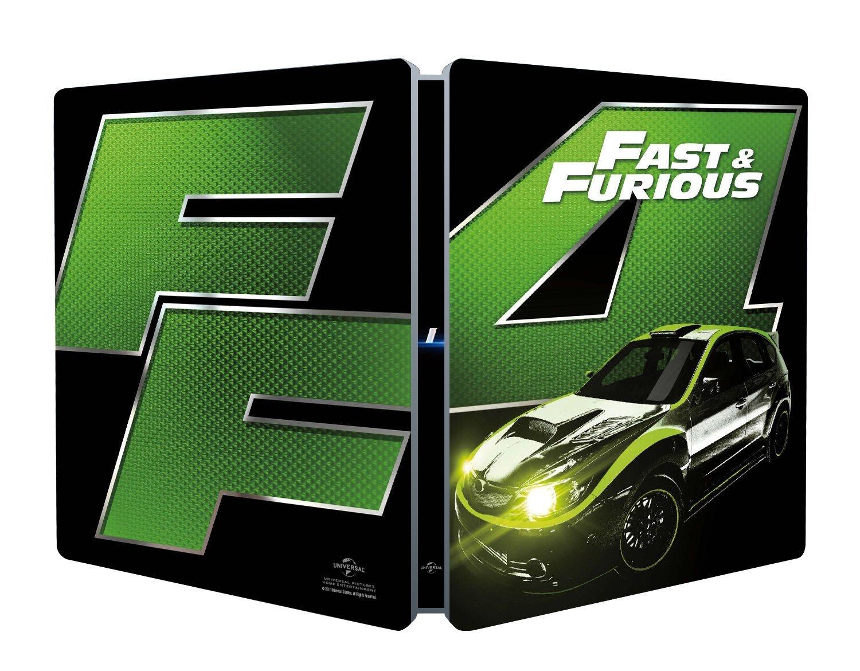 FAST & FURIOUS 4 (STEELBOOK)