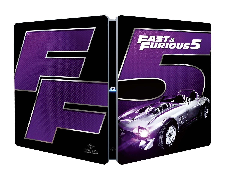 FAST & FURIOUS 5 (STEELBOOK)