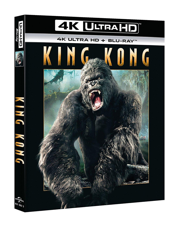 KING KONG (BLU-RAY 4K ULTRA HD+BLU-RAY)