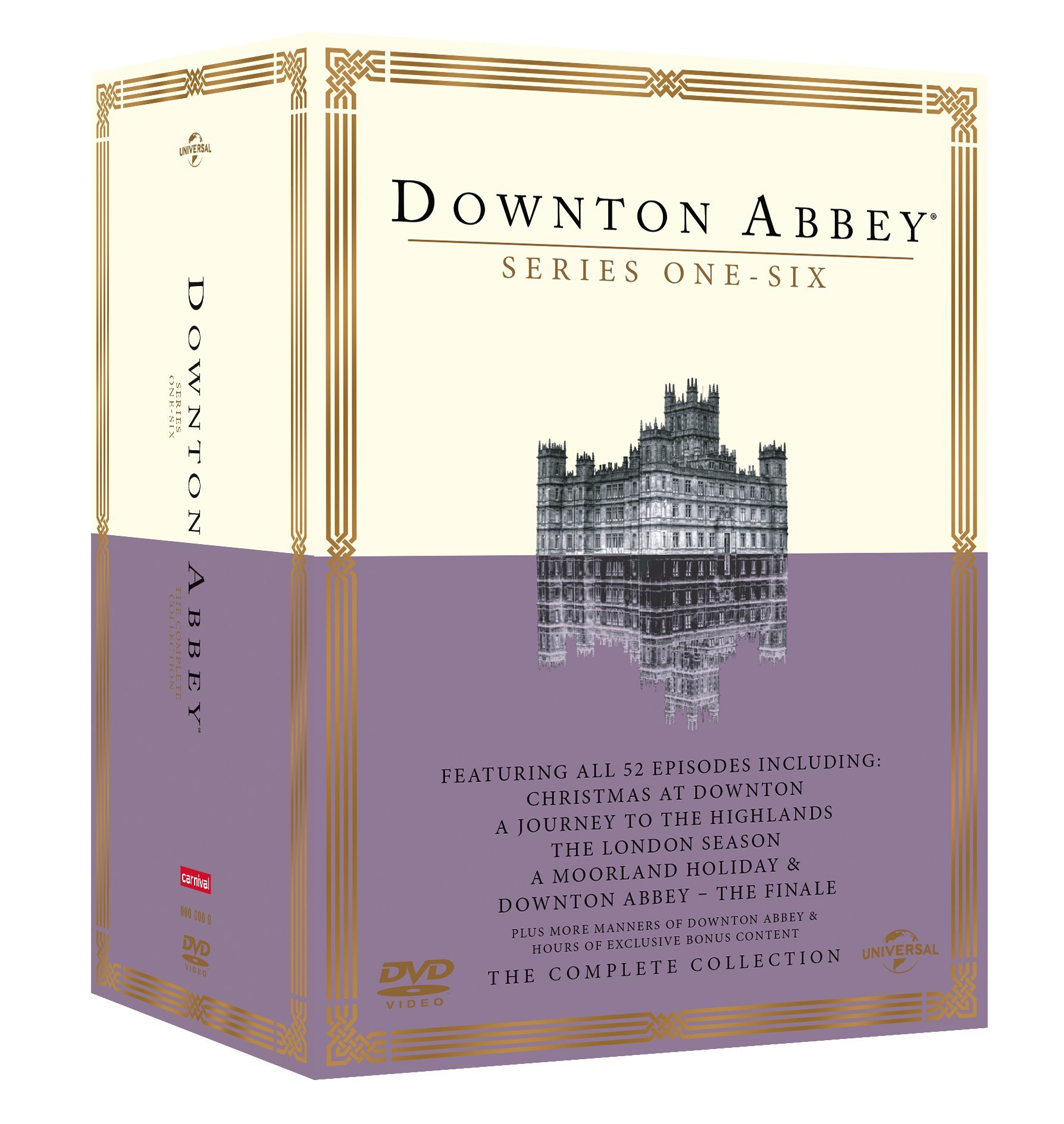 COF.DOWNTON ABBEY - LA COLLEZIONE COMPLETA (26 DVD) (DVD)