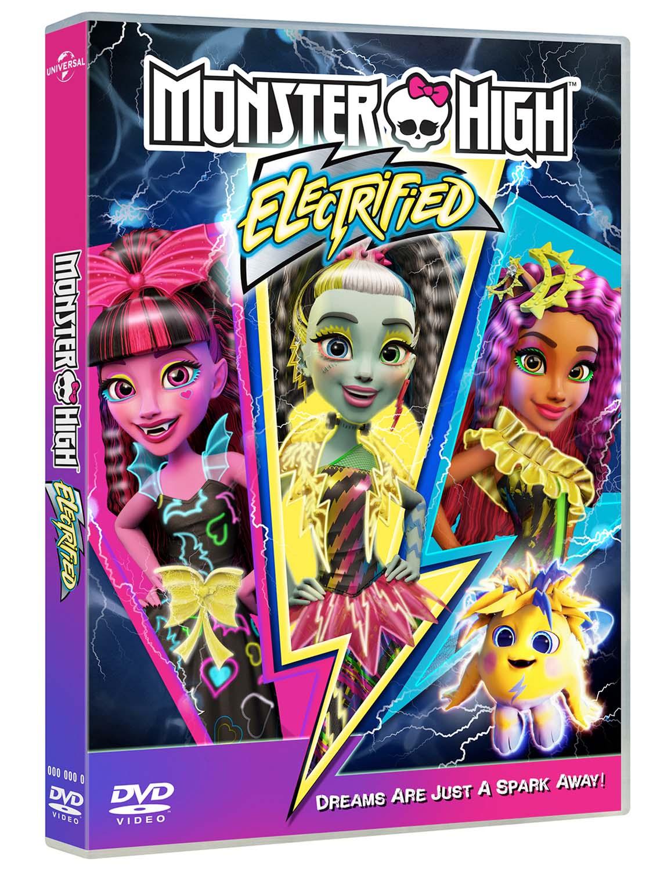 MONSTER HIGH - ELETTRIZZANTE (DVD)