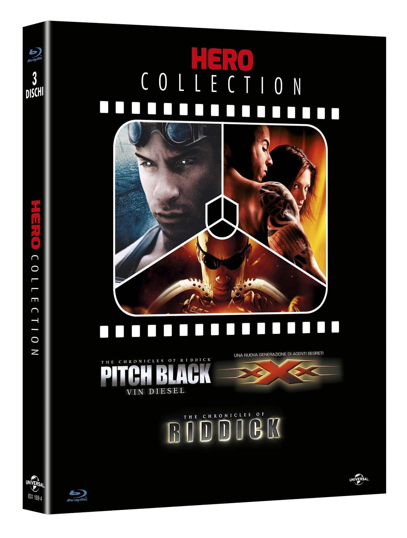 COF.HERO COLLECTION (3 BLU-RAY) PITCH BLACK - XXX - THE CHRONICL