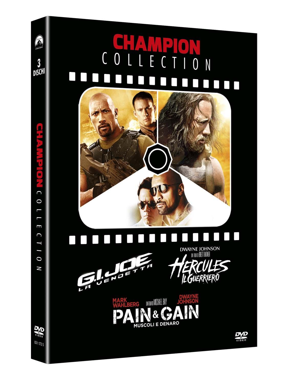 COF.CHAMPION COLLECTION (3 DVD) G.J. JOE + HERCULES - PAIN & GAI