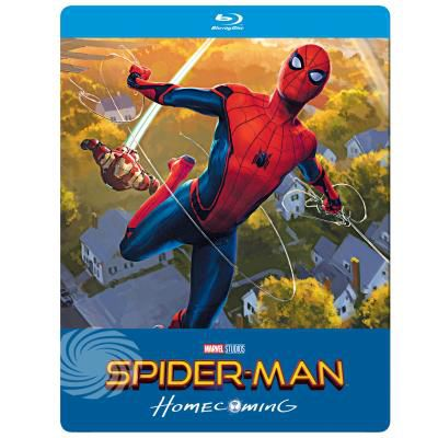 SPIDER-MAN HOMECOMING (STEELBOOK) (BLU-RAY)