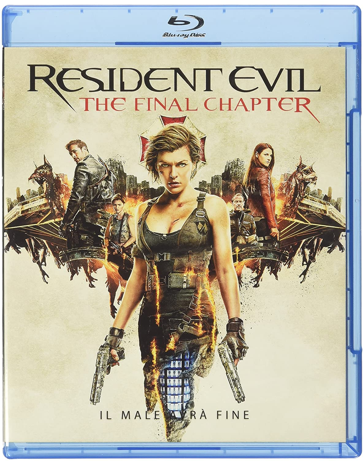 RESIDENT EVIL - THE FINAL CHAPTER - BLU RAY