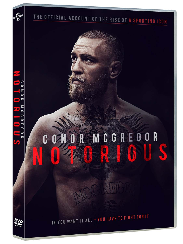 CONOR MCGREGOR: NOTORIUS (DVD)