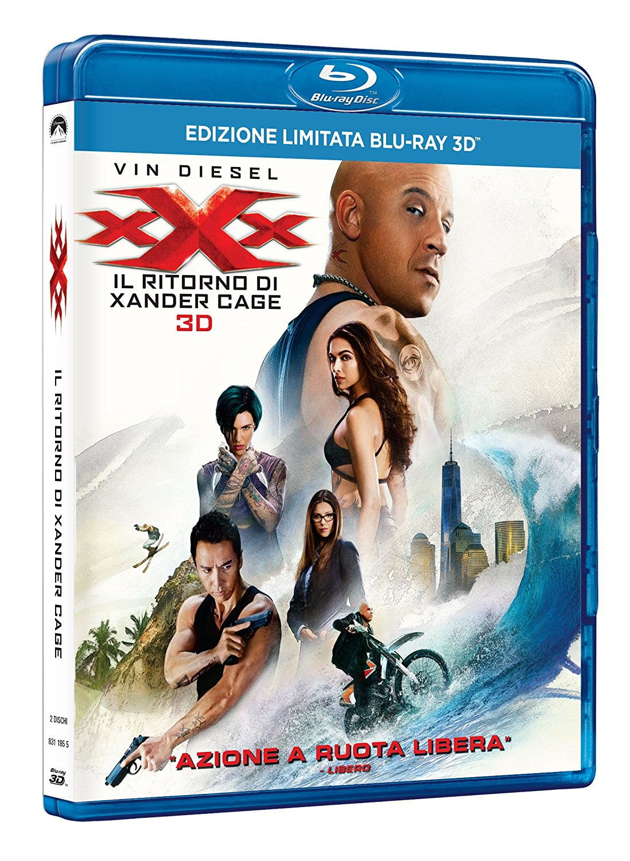 XXX - IL RITORNO DI XANDER CAGE (BLU-RAY 3D+BLU-RAY)