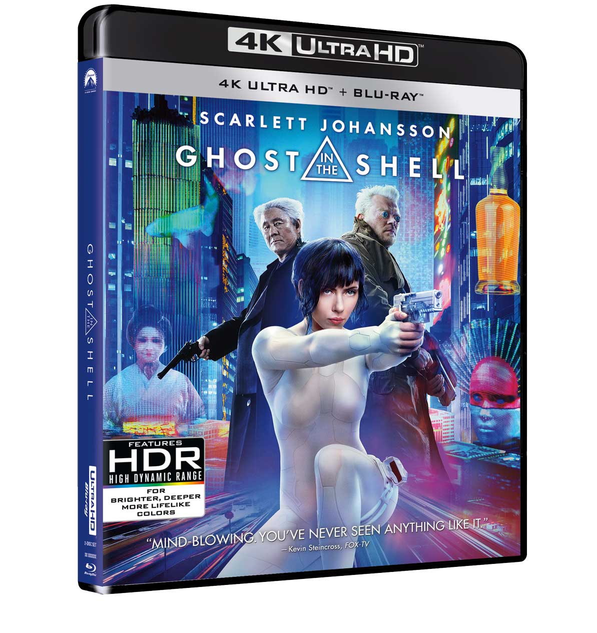 GHOST IN THE SHELL (BLU-RAY 4K ULTRA HD+BLU-RAY)