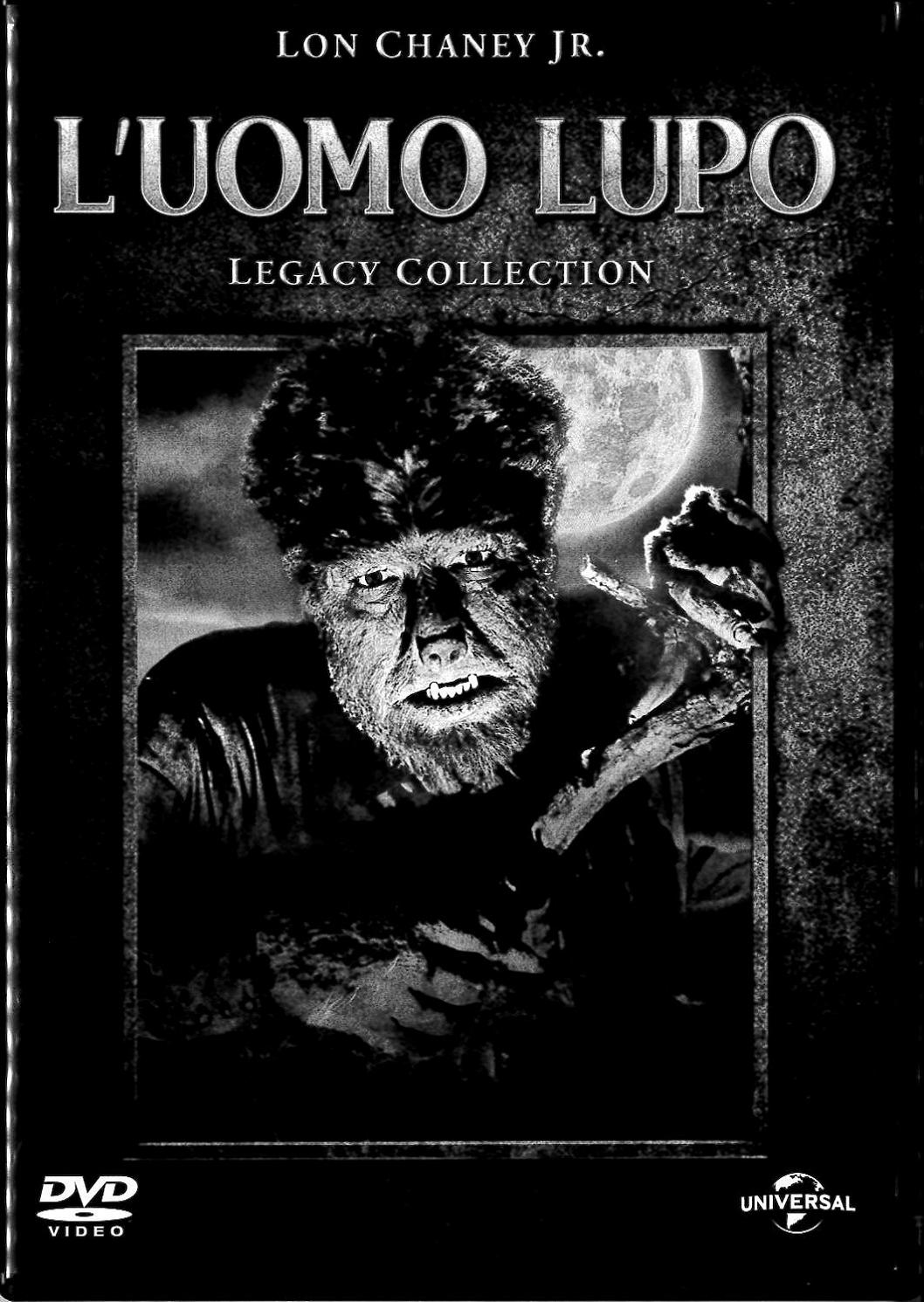L'UOMO LUPO - LEGACY COLLECTION (DVD)