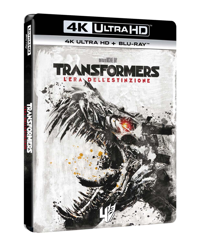 TRANSFORMERS 4 - L'ERA DELL'ESTINZIONE (BLU-RAY 4K ULTRA HD+BLU-